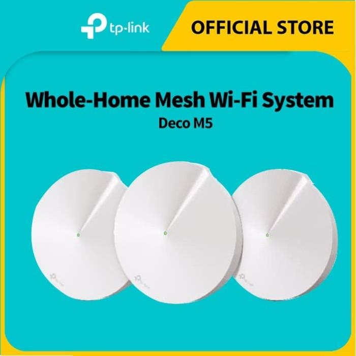 Foto Produk TP-LINK Deco M5 dari TP-Link Official