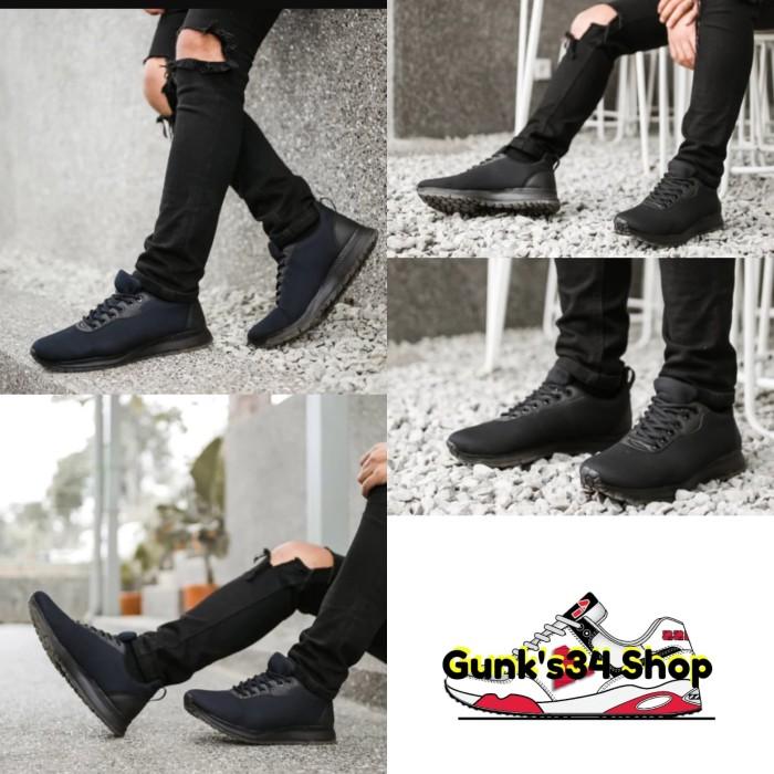 Foto Produk Sepatu Pria Murah Koketo Expansion Full Black Original dari gunk's34 shop