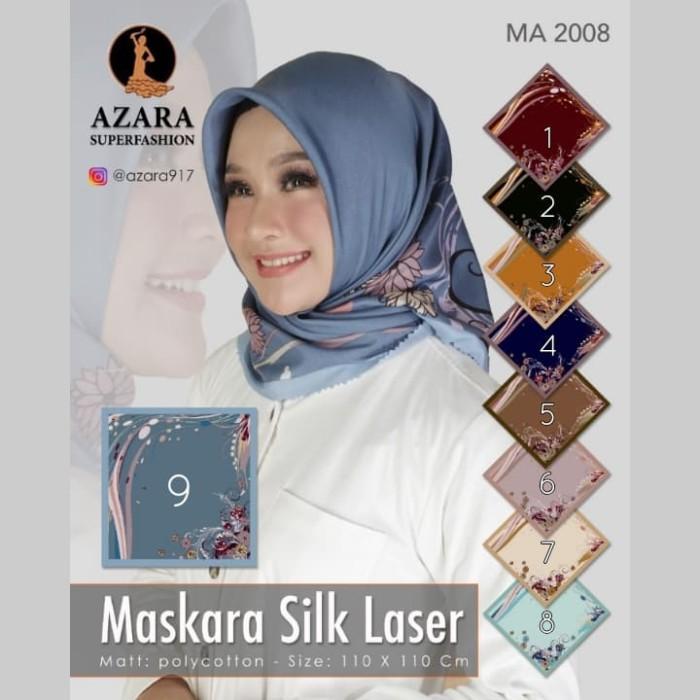 Jual Segiempat Lasercut Flowy Jilbab Azara Kerudung Segi4 Motif Hijab Kota Tangerang Jack Queen Shop Tokopedia