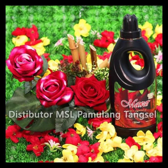 Foto Produk Mawar Super Laundry Pewangi Pakaian - Merah dari puspita5
