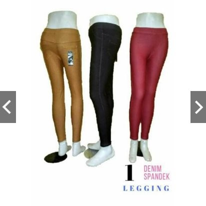 Jual Dapat 3 Pcs Celana Legging Jeans Kantong Bahan Tebal Adem Lembut Kota Salatiga Rcspt Tokopedia