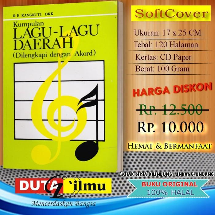 Jual Buku Kitab Kumpulan Lagu Lagu Daerah Plus Akord Kab Semarang La Tan5a Tokopedia