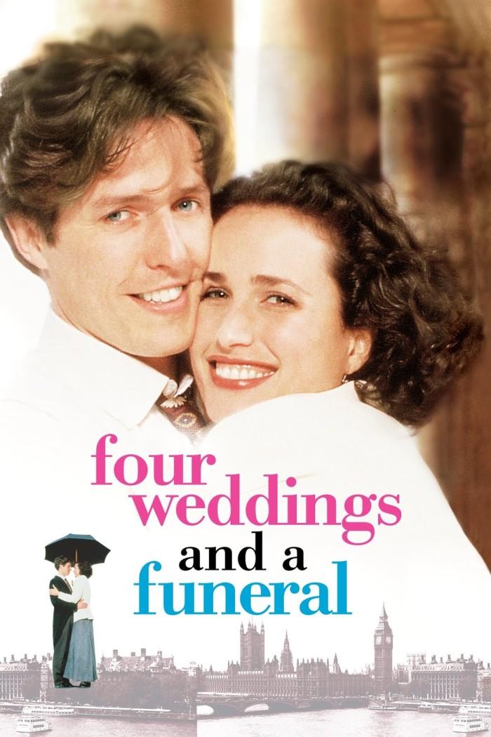 Jual Poster Film Four Weddings And A Funeral 1994 Jakarta Utara Mandcofficial Tokopedia