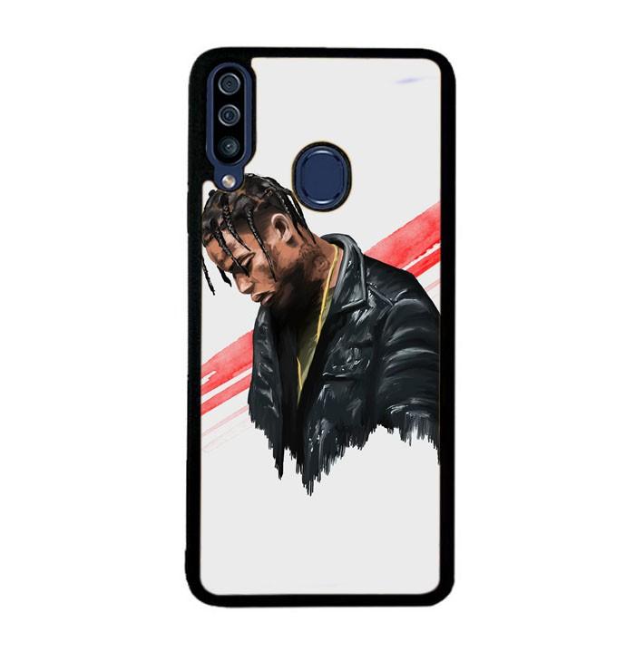 Jual Custom Hardcase Samsung Galaxy A20s Travis Scott Artist E1011