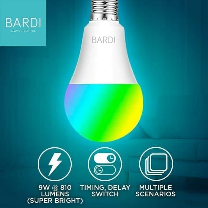 Lampu Pintar WiFi RGB 9W Bardi