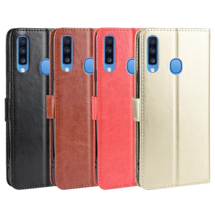 Jual Leather Case Samsung Galaxy A20e A20 E Gold Kota Bekasi Multi1 Tokopedia