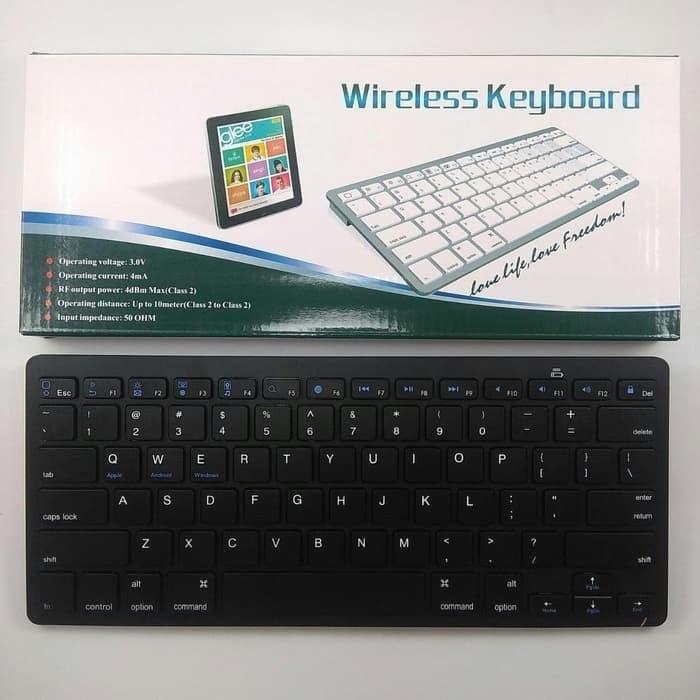 Jual Keyboard Bluetooth Bk 3001 Keyboard Wireless Jakarta Pusat Sagacomputer Tokopedia
