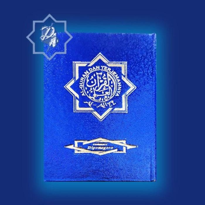 Foto Produk Al-qur'an Al-aliyy Terjemah Ukuran Nisfu Biru & Merah dari CV Penerbit Diponegoro