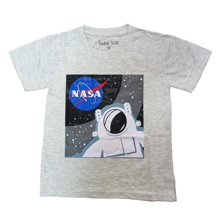 Foto Produk BAJU KAOS ANAK LAKI-LAKI NASA ASTRONOT - 3-4 tahun dari BABAMU