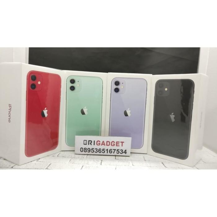 Foto Produk Apple iPhone 11 128GB 4GB RAM - iOS 13 - 6.1 inches - black single dari Origadget