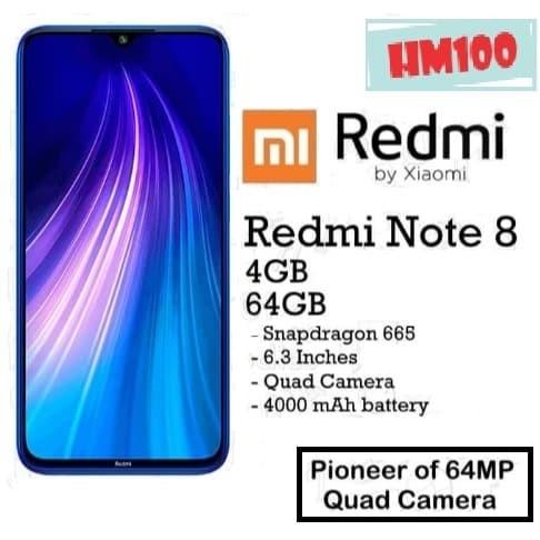 Jual Xiaomi Redmi Note 8 4 64 Rom 64gb Ram 4gb Garansi Resmi Tam Xiaomi Biru Kota Tangerang Selatan Harapan Mandiri 100 Tokopedia