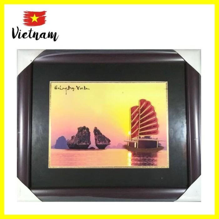 Foto Produk Souvenir Mancanegara Dekorasi Bingkai Foto Photo Frame HaLong4 Vietnam dari Iyesh Online Store