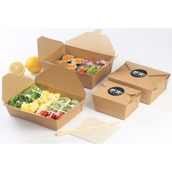 Packaging Makanan: Jual Custom Dus Makanan
