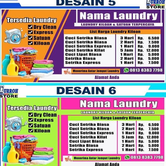 Banner Laundry Kiloan - Best Banner Design 2018