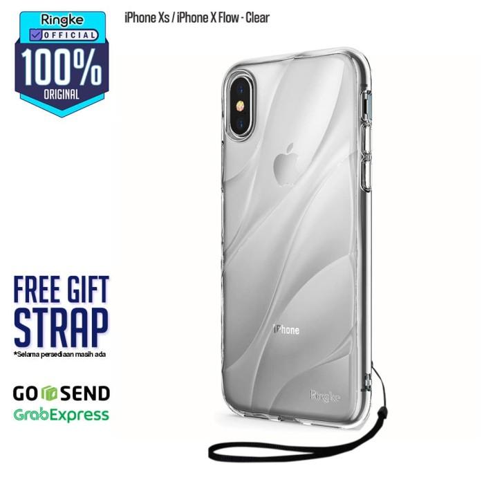Foto Produk Rearth Ringke Flow Premium Design Case iPhone X Ten 10 - Clear dari Official Ringke Partner