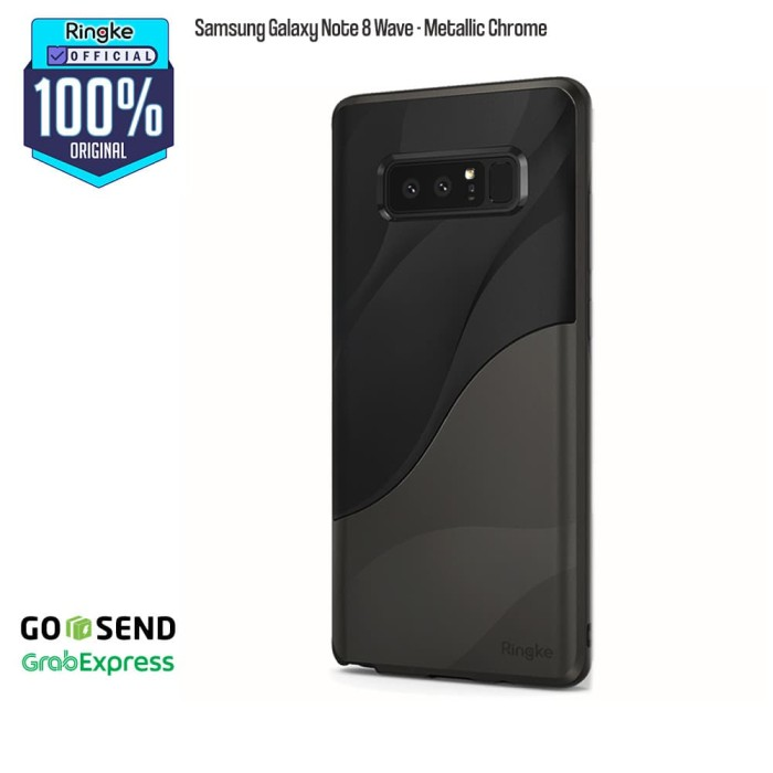 Foto Produk Rearth Samsung Note 8 Wave - Charcoal Black dari Official Ringke Partner