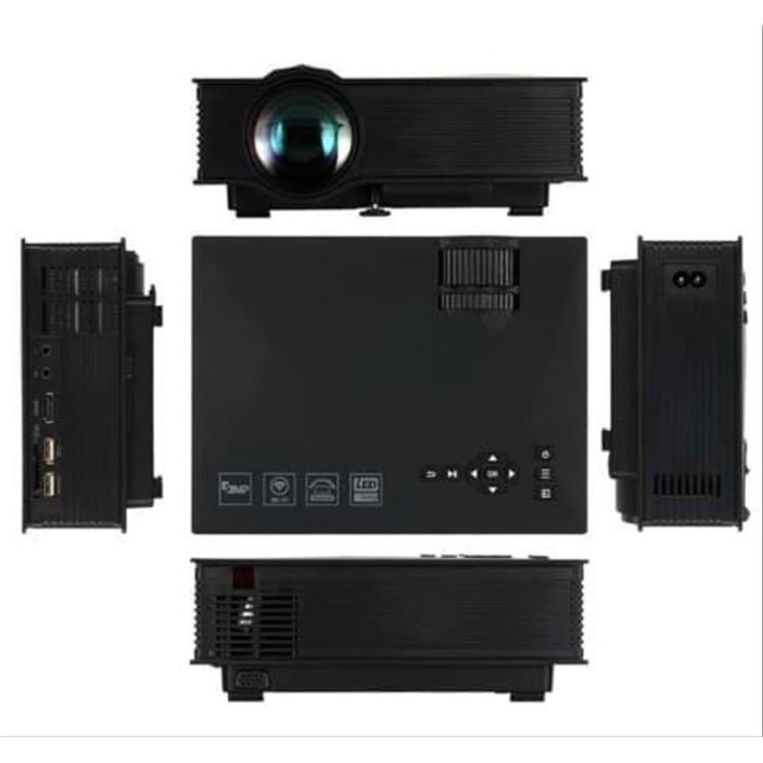 Jual Sale Proyektor Mini Home Theater Presentasi 1200 Lumens 1080p Full Hd Jakarta Barat Akhdan33 Store Tokopedia