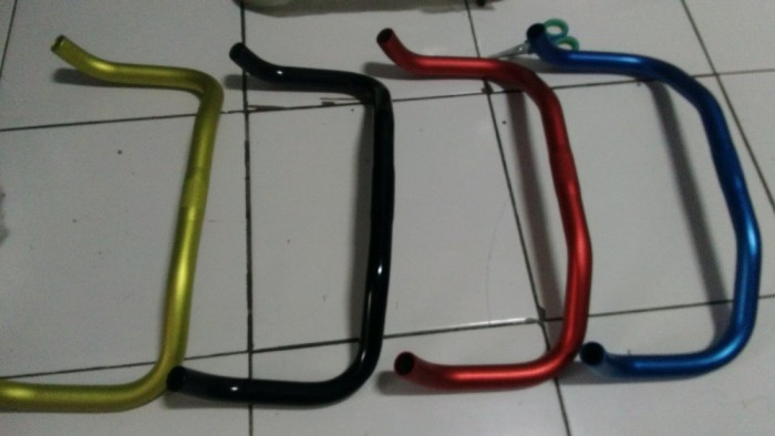 Jual Bullhorn Fixie Alloy stang fixie Bullhorn alloy parts