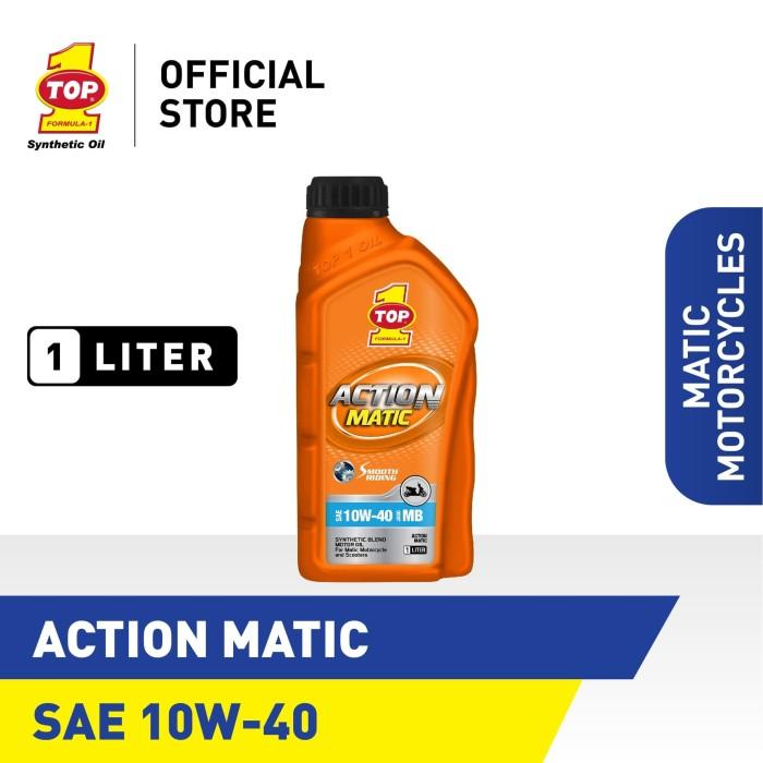 Foto Produk Oli Motor Matik TOP 1 ACTION MATIC SAE 10W-40 | 1 Liter dari TOP1 Store