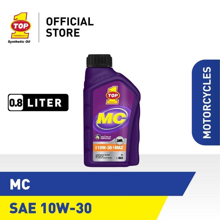 Foto Produk Oli Motor TOP 1 SMO MC SAE 10W-30 | 0.8 Liter dari TOP1 Store