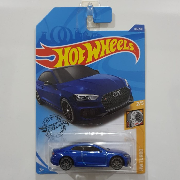 Jual HOT WHEELS AUDI RS 5 COUPE BLUE