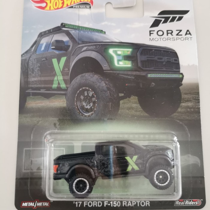 Jual Hot Wheels 17 Ford F150 Raptor Retro Forza Motorsport X