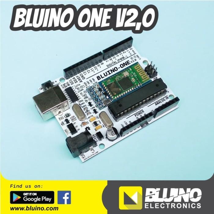 Foto Produk Bluino-One V2.0 - Arduino Uno + Bluetooth HC-05 dari Bluino