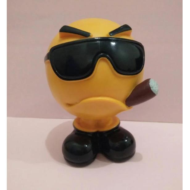 Foto Produk Speaker digital bluetooth unik karakter bentuk kepala berkacamata Hero dari RTB Com