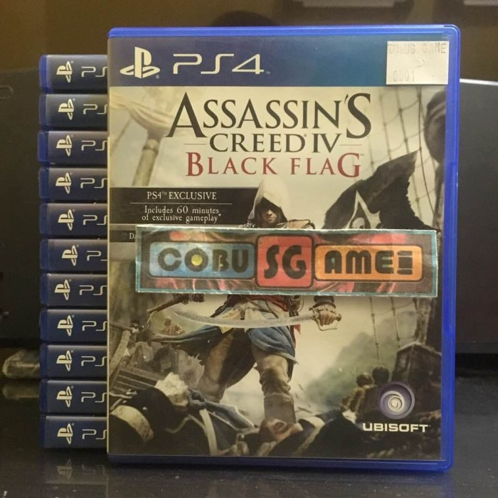 Jual Original Game Assassins Creed Iv Black Flag Kota Denpasar