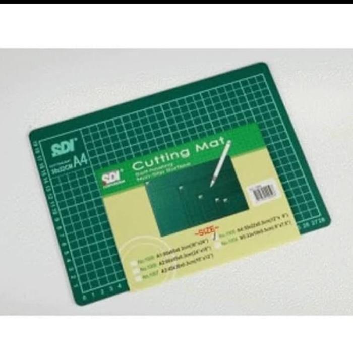 Foto Produk cutting mat sdi a4 murah ori alas tatakan pemotong kerajinan dari Sentral Stationery