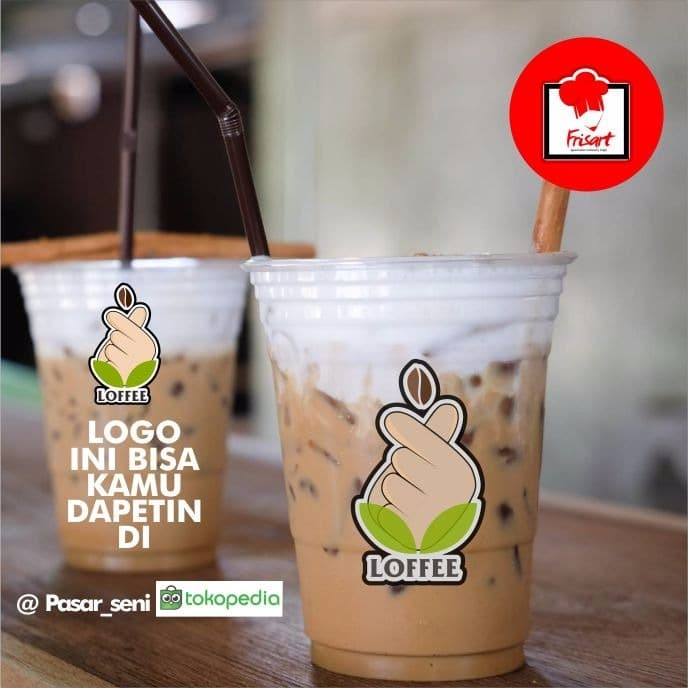 Jual LOGO MINUMAN KOPI COFFEE KEKINIAN