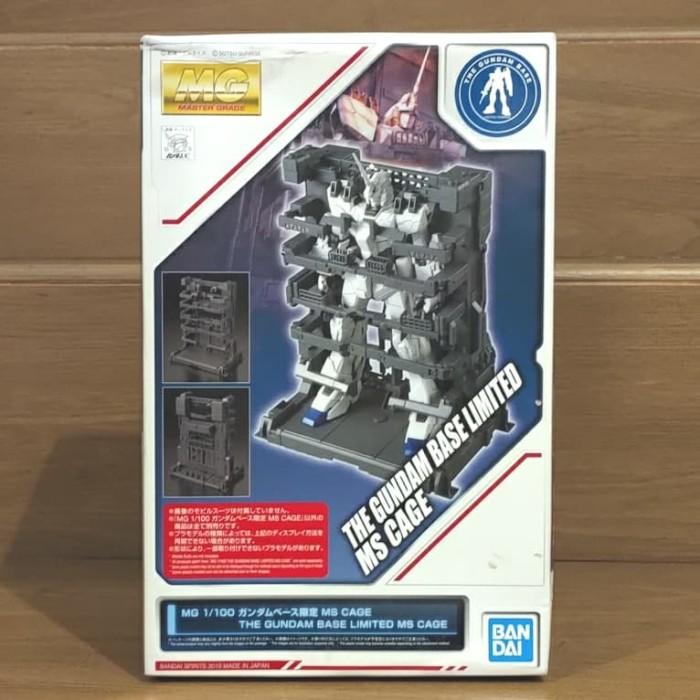 Foto Produk MG MS Cage the Gundam Base Limited Bandai dari Charu Toys