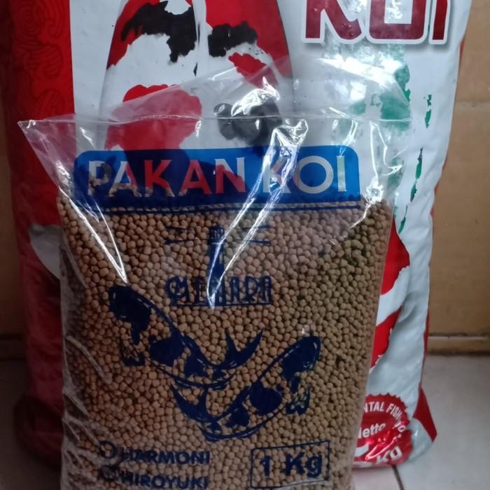 Foto Produk pakan koi hiroyuki superbulky&color max isi 1 kg size s 2 mm isi 1 kg dari toko bangunan 88