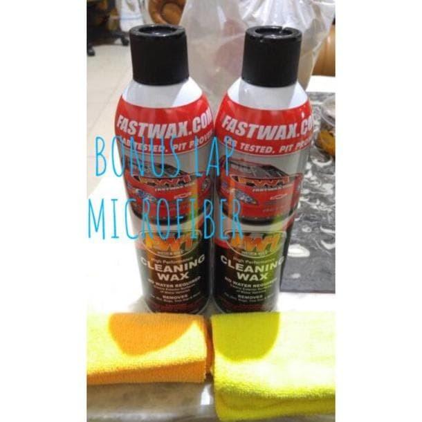 Jual Best Seller Fastwax Fw1 Cleaning Wax Pembersih Mobil Motor Jakarta Utara Fahari Store Tokopedia
