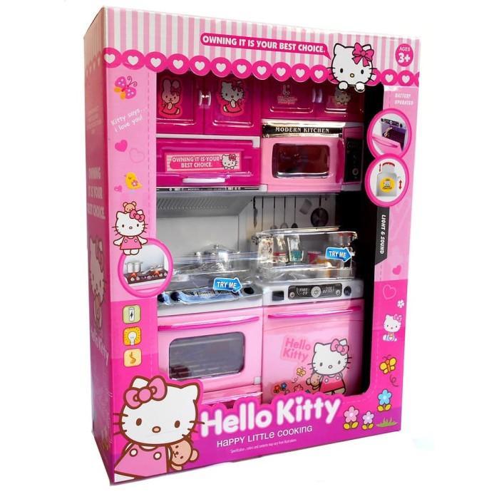 Jual Mainan Masak Masakan Dapur Modern Kitchen Set Hello Kitty Jakarta Utara Intanshp Tokopedia