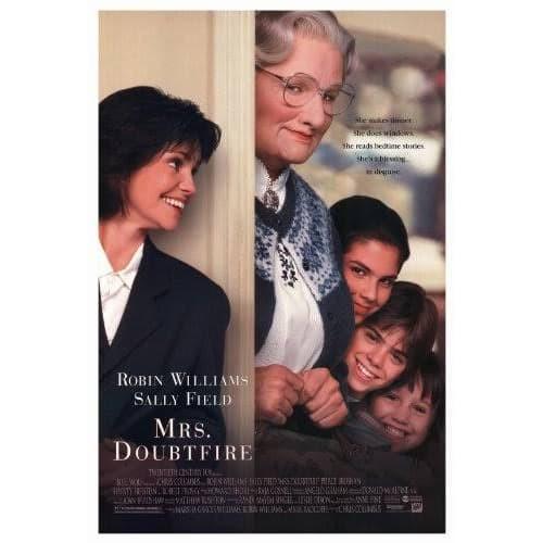 Jual Dvd Film Mrs Doubtfire 1993 Kab Karawang Dvd Movie Update Tokopedia