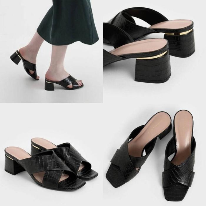 Foto Produk Promo Sepatu Wanita CNK C&K CK 093 Croco Original Ori Best Seller New dari Colour Story Bag
