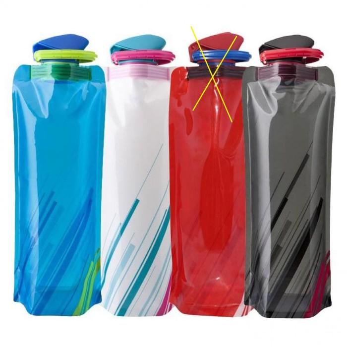 Jual Botol Minum Lipat 700ml Camping Outdoor BPA FREE