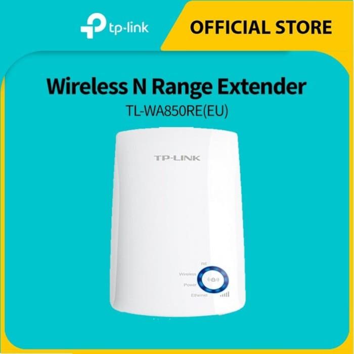 Foto Produk TP-LINK TL-WA850RE 300Mbps Wi-Fi Range Extender - White dari TP-Link Official