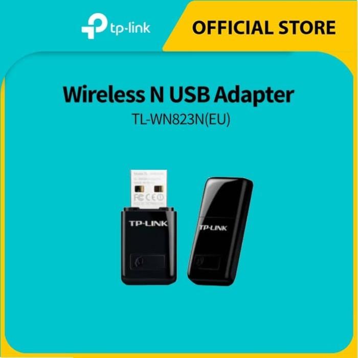 Foto Produk TP-LINK TL-WN823N 300Mbps Mini Wireless N USB Adapter - Black dari TP-Link Official