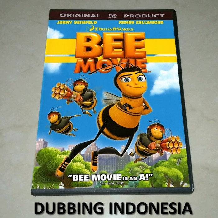 Jual Dvd Bee Movie 2007 Dub Indo Kab Banyuwangi Play Dvd Tokopedia