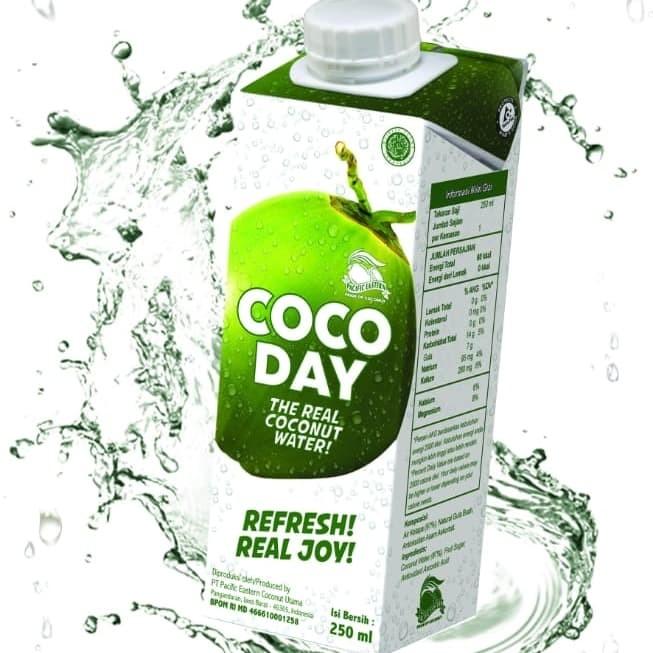 Foto Produk Cocoday air kelapa asli 250 ML X 6 psc dari toko dua putra