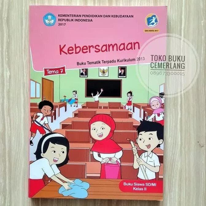 Jual Buku Siswa Tematik Kelas 2 Sd Tema 5 6 7 8 Semester 2 Revisi 2017 Jakarta Barat Beatrice788 Tokopedia