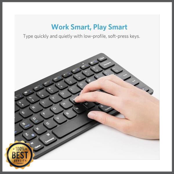 Jual Anker Bluetooth Ultra Slim Keyboard For Ipad Black Good Product Jakarta Barat Neylani Store Tokopedia