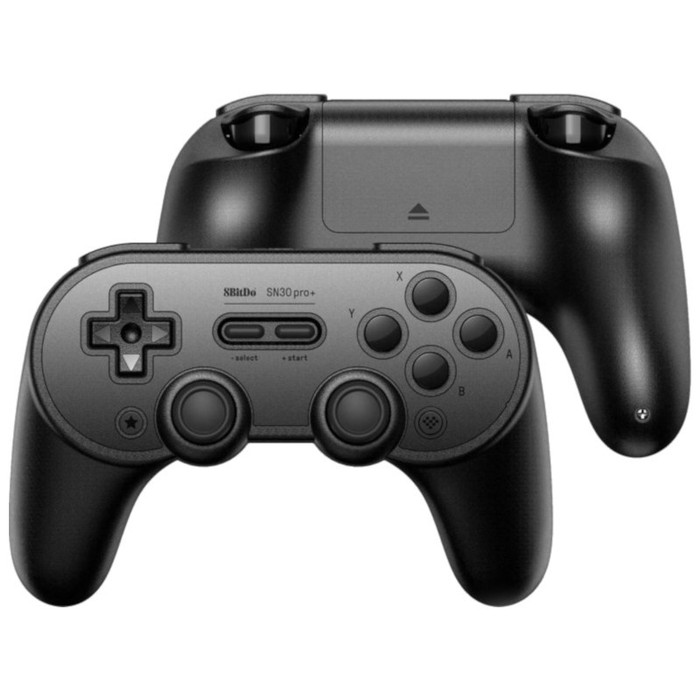 Foto Produk 8bitdo SN30 Pro+ SN30 Pro Plus Gamepad Bluetooth Wireless - Hitam dari Butikgames