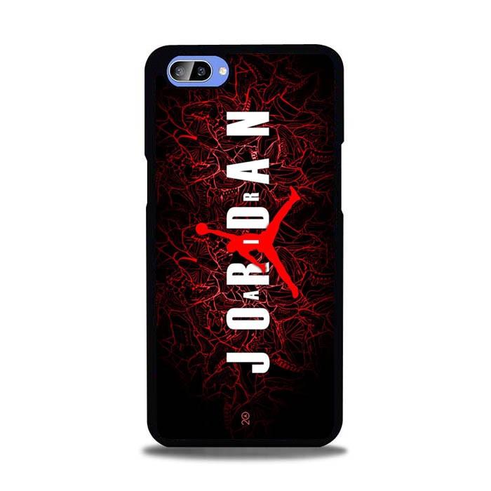 Jual Casing Oppo A1k Air Jordan Red Wallpaper J0073 Kota