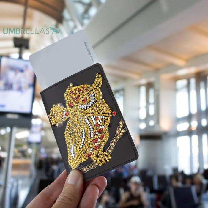Jual Terlaris Sarung Pelindung Paspor Dengan Bahan Kulit Pu Dan