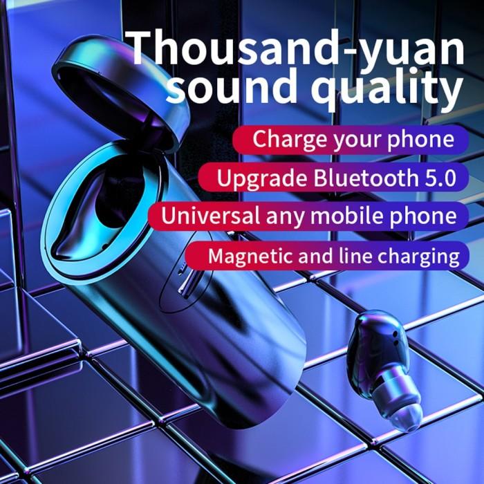 Jual Mantap Earphone Mini Wireless Bluetooth Portable Hd Stereo