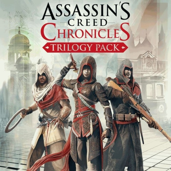 Jual Assassins Creed Chronicles Trilogy For Pc Or Laptop Kab