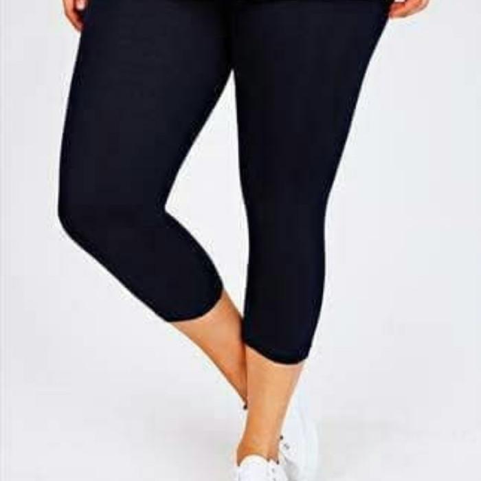 Jual Celana Legging Jumbo Kaos Polos 7 8 Selutut Laging 7 8 Leging 3 4 Kota Depok Toko Laris 70k Tokopedia
